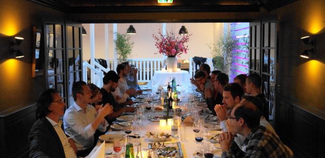 Huwelijksdiner, zakelijk diner, bedrijfsdiner of familie diner