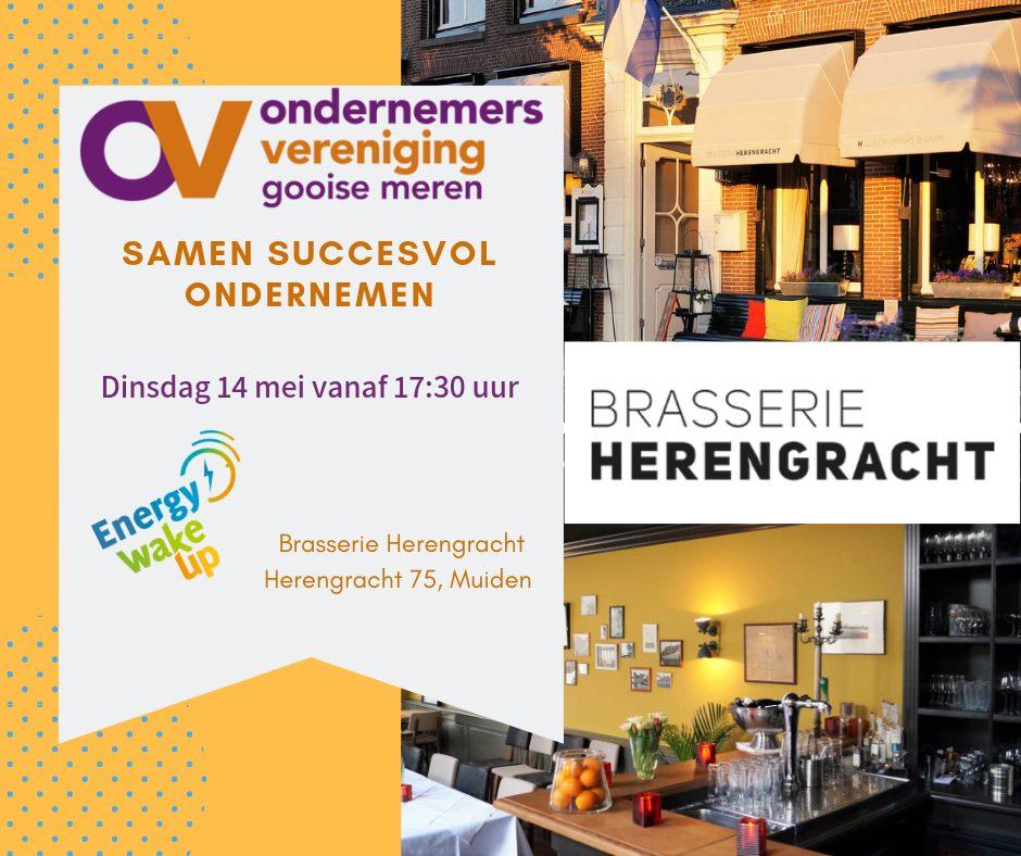 Ondernemersavond In De Roeikamer Brasserie Herengracht